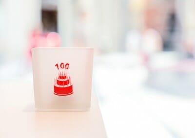 10 veces 10 para la inauguración de la tienda 100