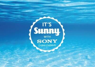 It´s Sunny with Sony